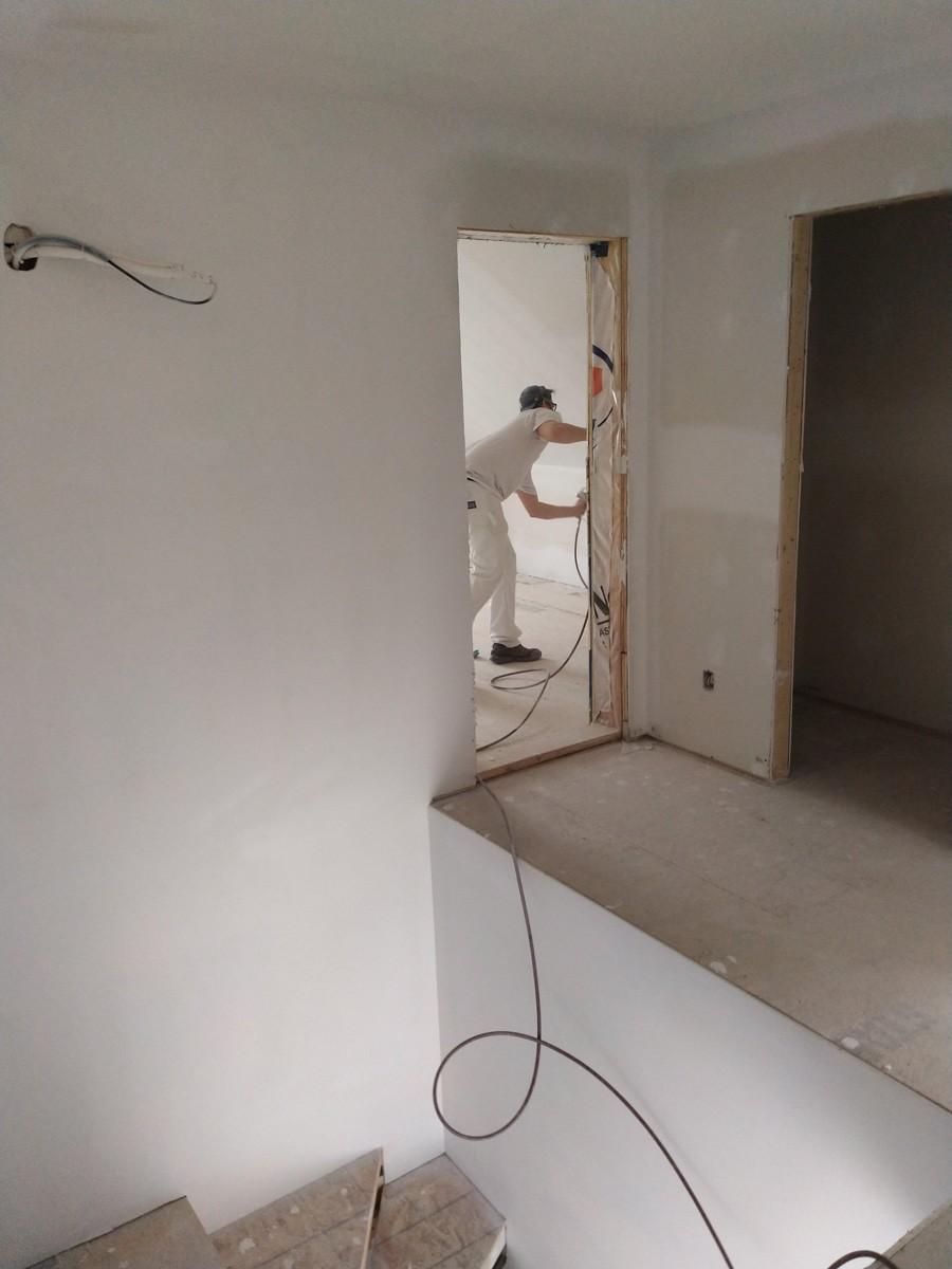 Projet : peinture construction neuve