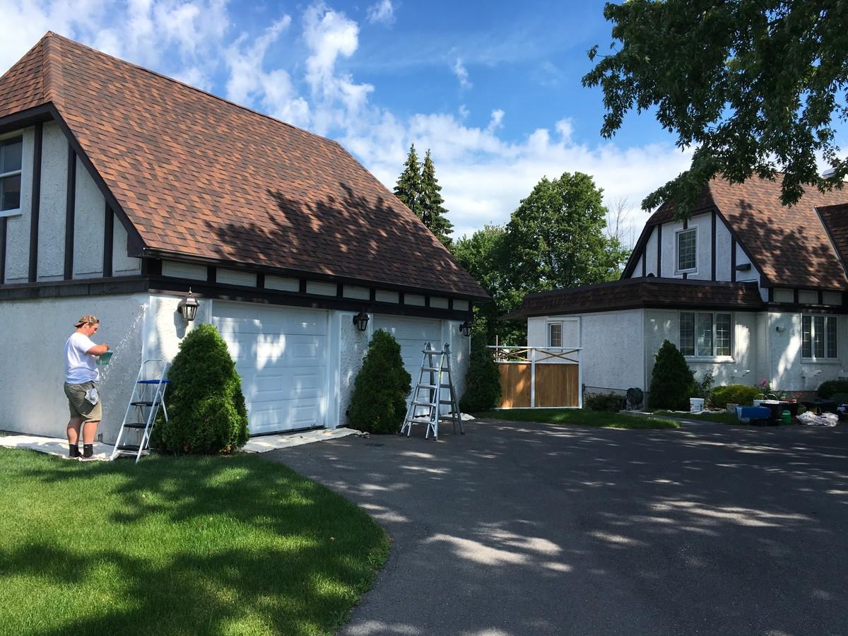Projet : peinture garage