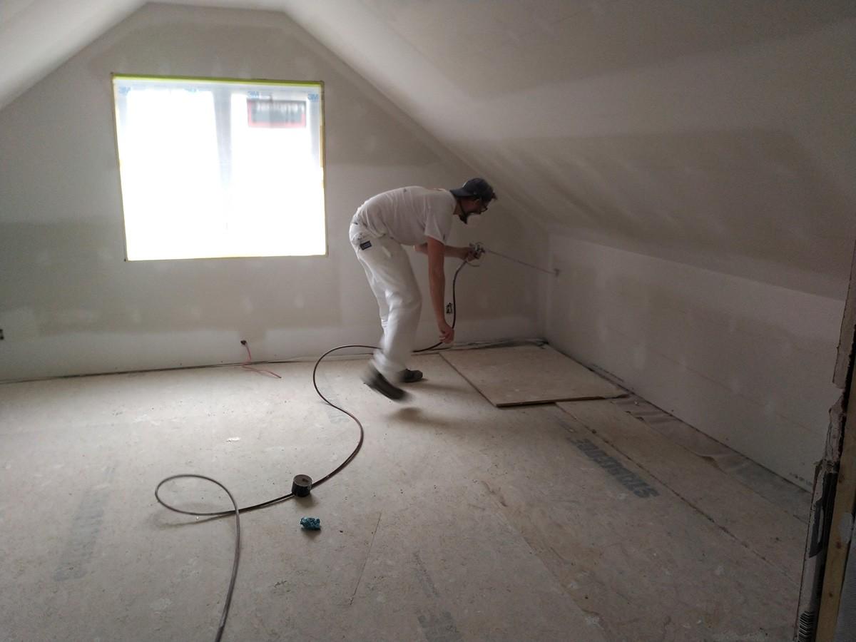 Projet : peinture au pisotolet