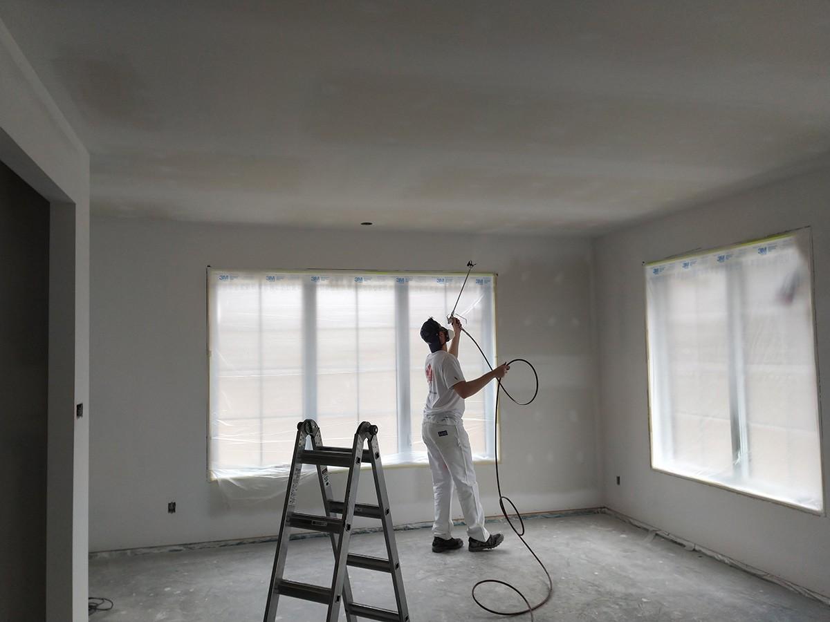 Projet : peinture de plafond