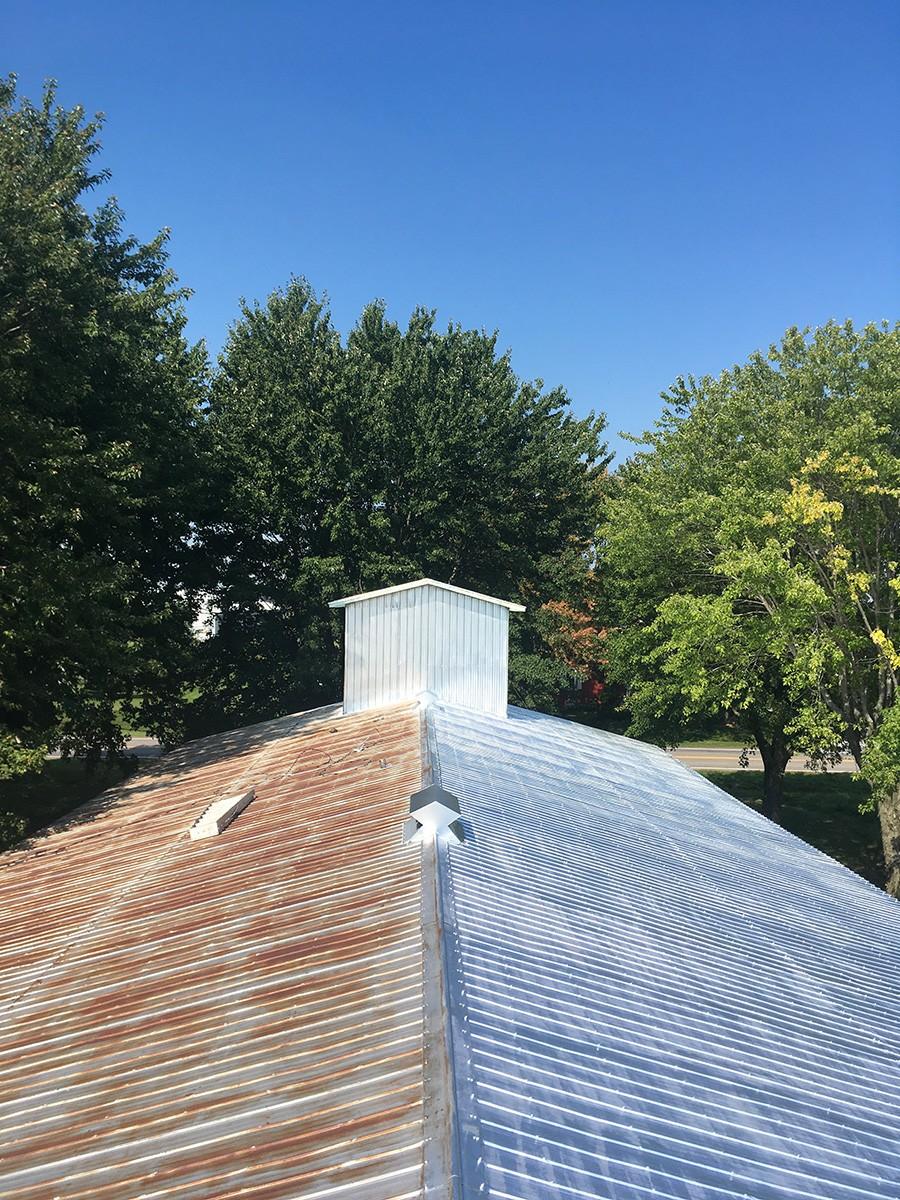 Projet : peinture toiture