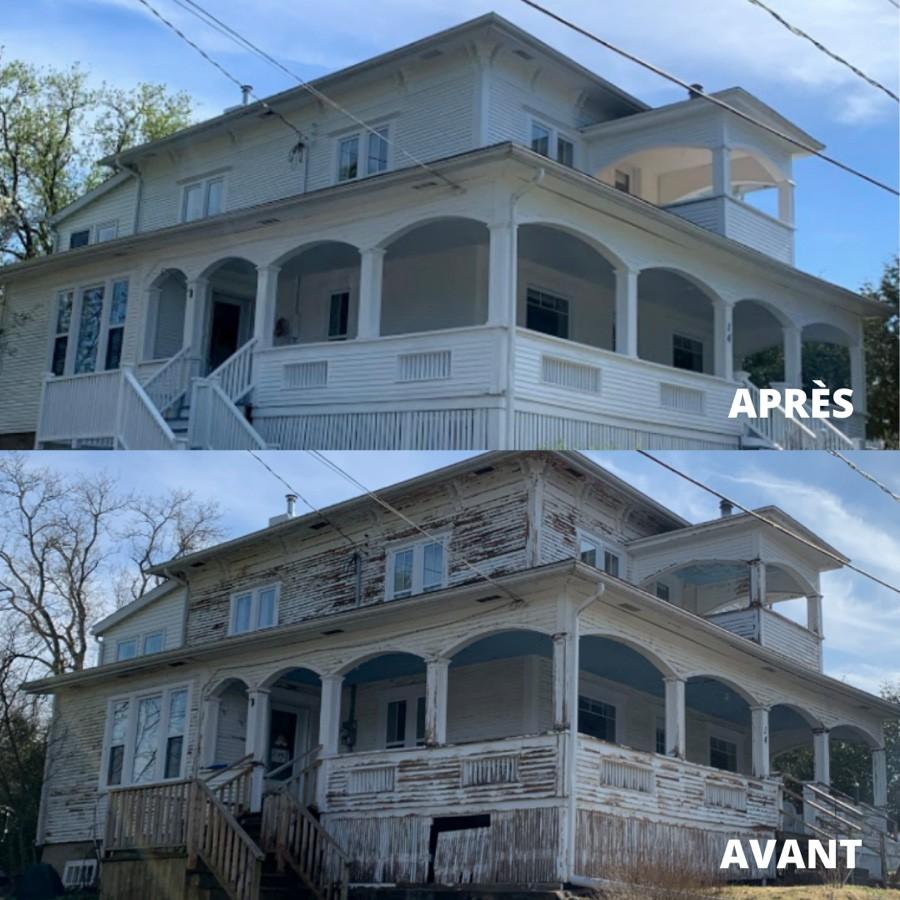 Réalisation : restauration de bâtiments patrimoniaux