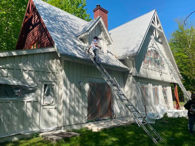 Projet de peinture extérieure