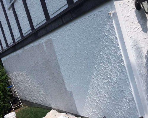 Projet : peinture stucco